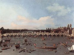 Canaletto Westminster Bridge