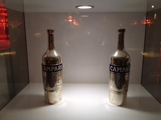 Due bottiglie della collezione CAMPARI
