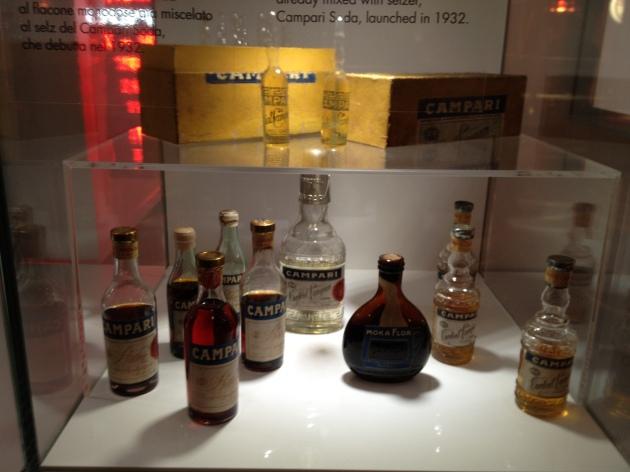 Alcune bottiglie di prodotti CAMPARI