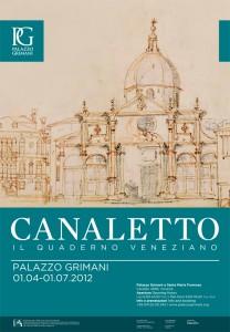 Manifesto mostra del Canaletto
