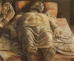 Andrea Mantegna - Cristo disteso