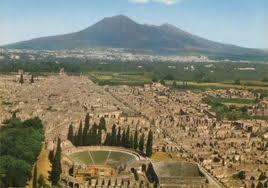 Pompei - aereal view