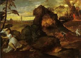 Orfero ed Eurice di Tiziano Vecellio